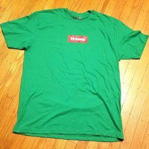 DPMNM Don't Pay Me No Mind T-Shirt | 2XL | Green